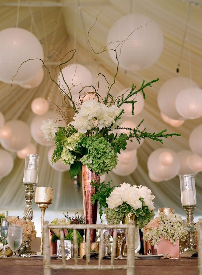 ceilingchinese  lanterns - white