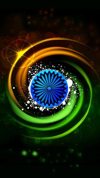 India Flag for Mobile Phone Wallpaper 8 of 17 - Tiranga in 3D for free