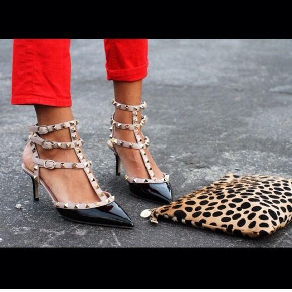 100% authentic valentino kitten heels
