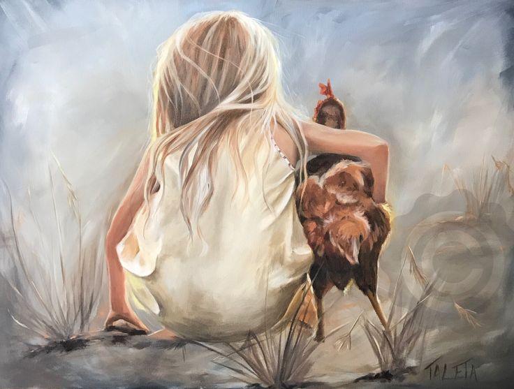 #oilpainting #TaletaArt#portraitpainting #countryliving #originalart #childhoodunplugged