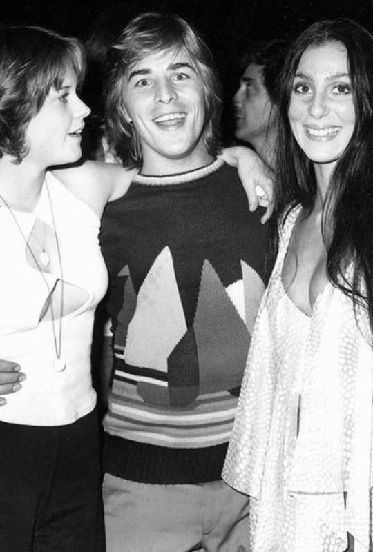 1970 Cher, Don Johnson Melanie Griffith