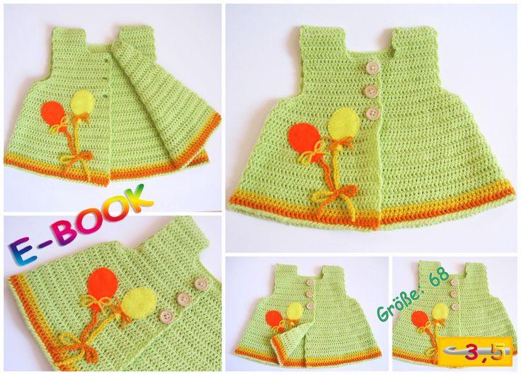 8 best Baby Kleidung häkeln images on Pinterest | Crochet clothes ...