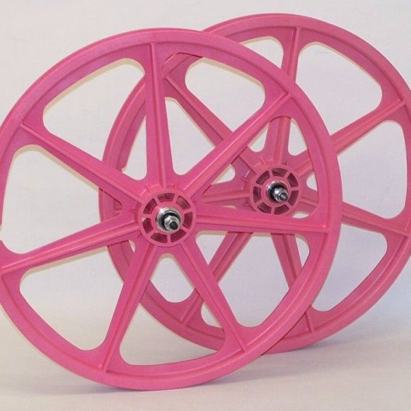Limited Edition Pink Skyway BMX 24 Inch Tuff Wheels