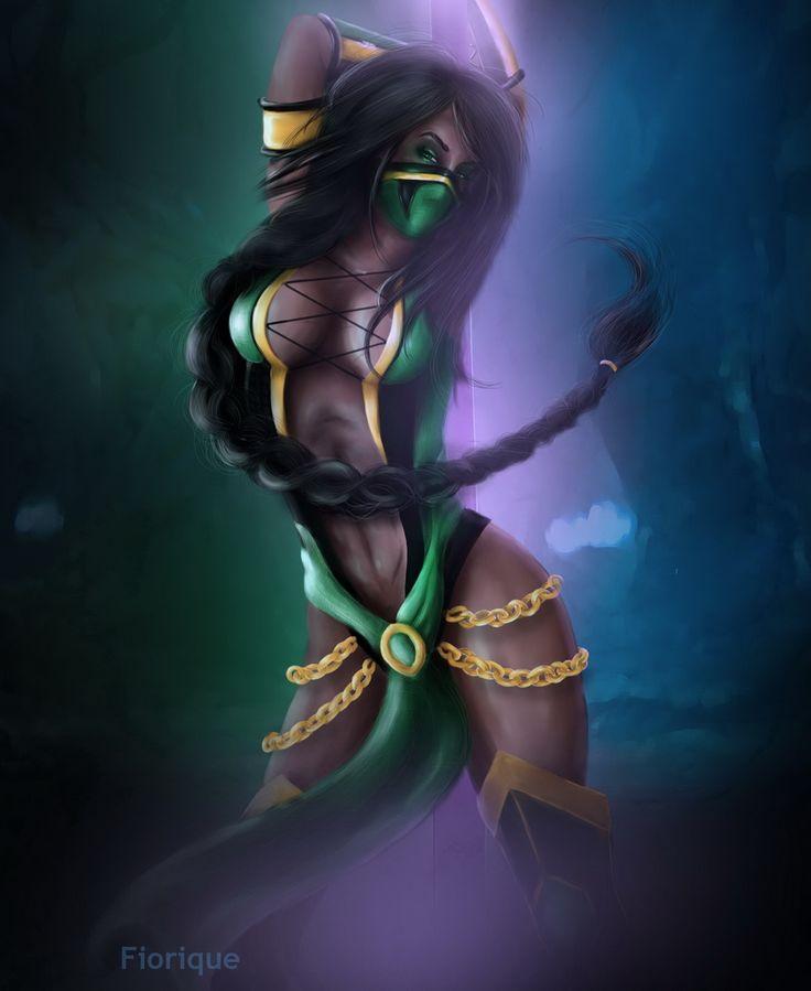 jade street fighter naked