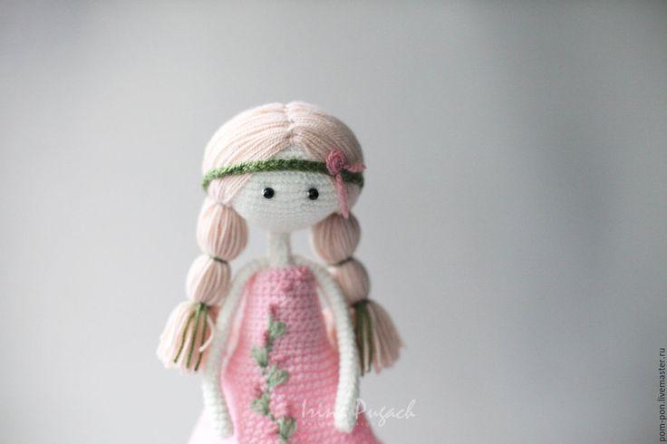 Купить Девочка Лето кукла вязаная ручная работа - вязаная кукла, вязаные…