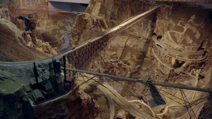 Have you ever been to Northlandz in Hunterdon, New Jersey? It's a massive model railroad that bills itself as the world's largest. I'll let Miniatur Wunderland in Germany defend itself. But these spectacular close-up shots speak for themselves.