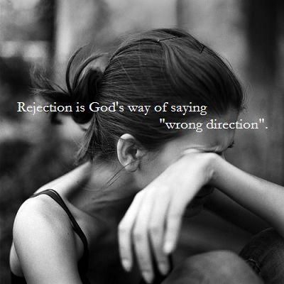 Rejection quote