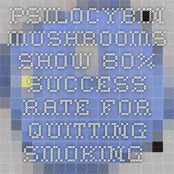 Psilocybin Mushrooms show 80% Success Rate for Quitting Smoking   Spirit Science
