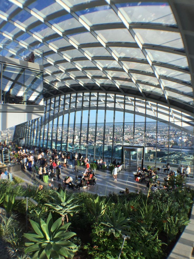 Free Sky Garden visit, book in advance http://skygarden.london/sky-garden ; 20 Fenchurch Street