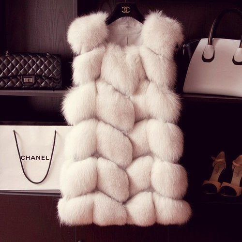 Chanel fur & bags