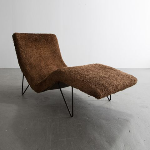 Greta Magnusson Grossman; Chaise Longue 1950s She was one of the few female designers to gain prominence during the mid-20th century architectural scene in Los Angeles.