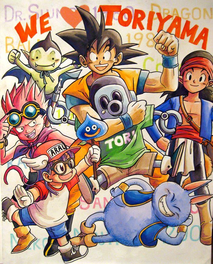 We love Toriyama by AnnouncerGuy