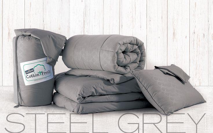 BED IN A BAG STEEL GREY