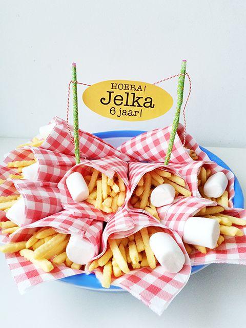 'patatje mayo' trakteren - feestelijke traktatie voor school