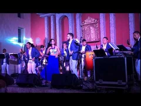 Ruben y la Cartagena Stars Orquesta -Como Podre Disimular - YouTube