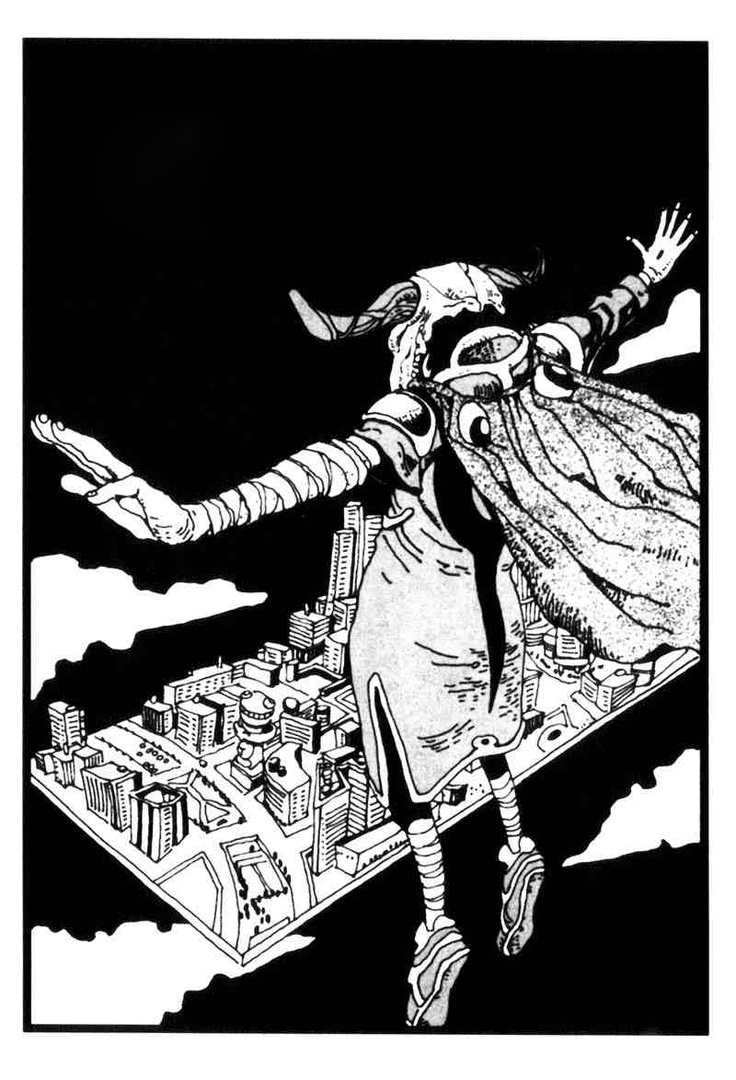 Illustration // Tekkon Kinkreet by Taiyo Matsumoto.