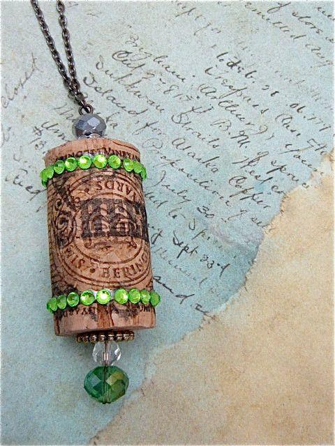 Steampunk Christmas ornament - Steampunk cork ornament - Hand painted ornament - Victorian Ornament - One of a kind