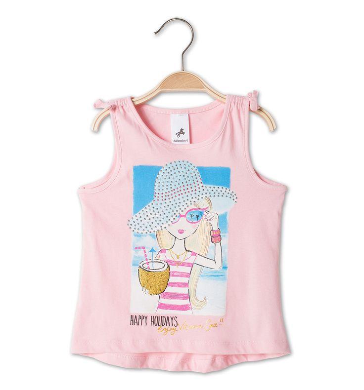 Camiseta en rosa ss16