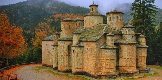 ΙΕΡΑ ΜΟΝΗ ΤΙΜΙΟΥ ΣΤΑΥΡΟΥ ΔΟΛΙΑΝΩΝ ΑΣΠΡΟΠΟΤΑΜΟΥ   Μοναστήρια της Ελλάδος