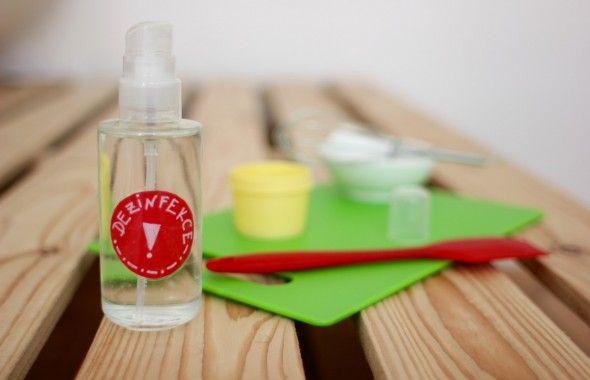 Pracovní dezinfekce | Kosmetika hrou