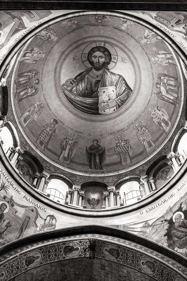 Dirk Goldbach, Ceiling of the Church Of The Holy Sepulcher, Old City, Jerusalem, Israel, 2014-06-26