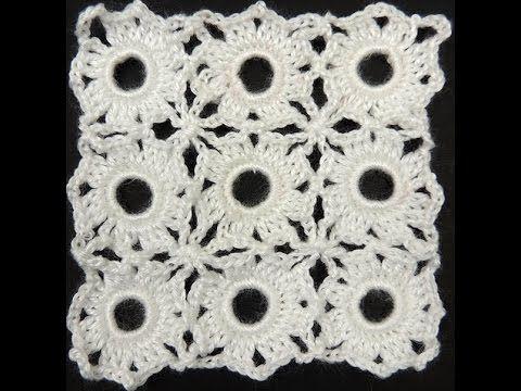 Crochet : Cuadrado # 10