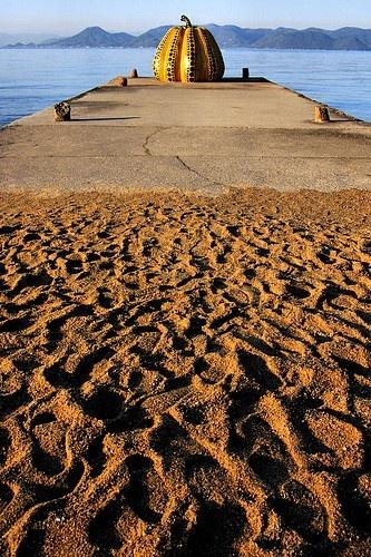 Naoshima in the Seto Inland Sea known as Art Island, Japan