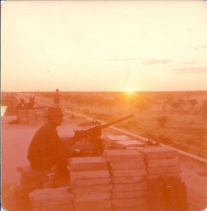 SADF Browning M1919A4 position.