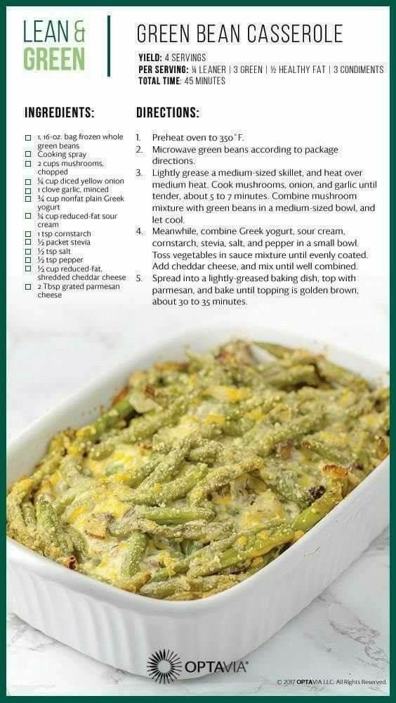 Greenbean Casserole The Perfect Side Dish To Bring Over