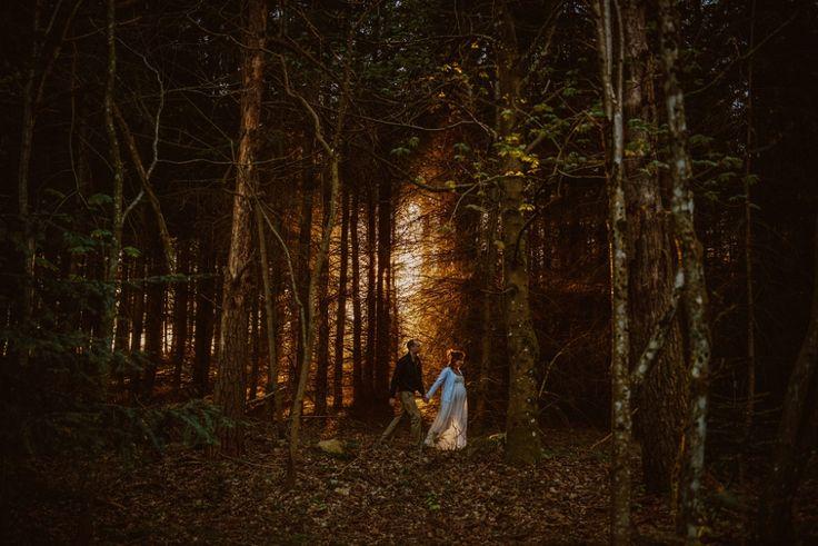 Séance maternité en forêt // Zépjyr et Luna Photographie