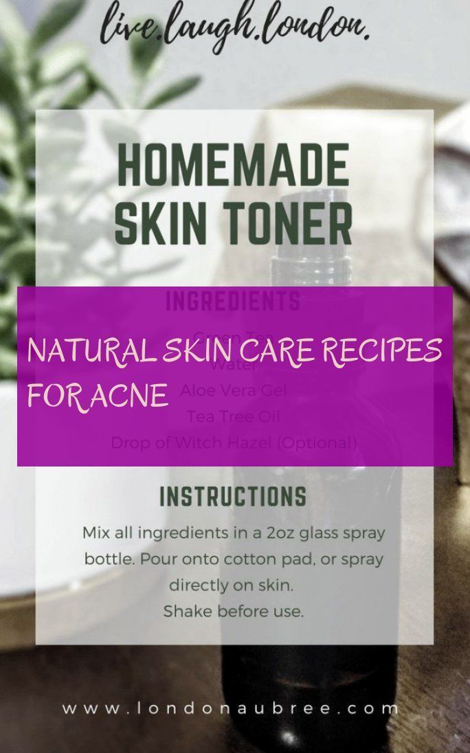 # Skin care recipes - natural skin care recipes for acne & natural skin care - ...  -  Hautpflege-Rezepte
