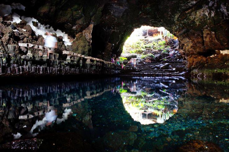 Los Jameos del Agua en Lanzarote, otra maravilla de la naturaleza