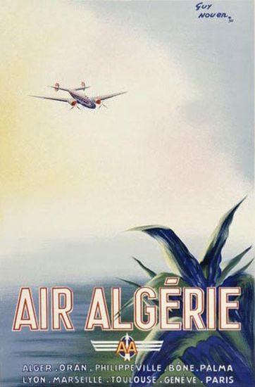 Air Algerie Airplane Alger Oran Bone Palma Lyon
