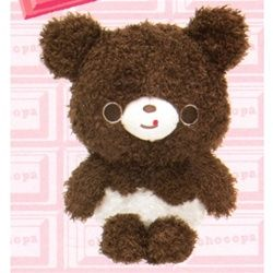 "San-X Chocopa Panda 7.8"" Plush: Dark Panda"