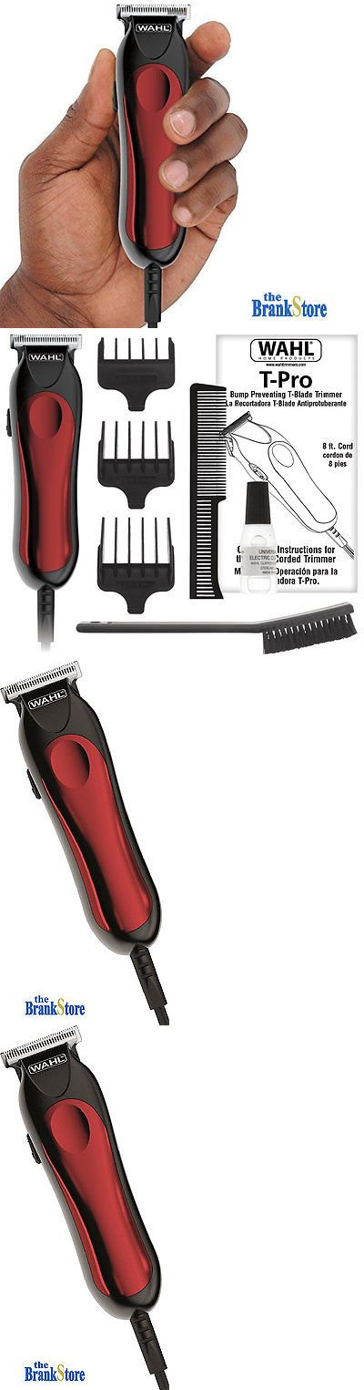 Clippers and Trimmers: Electric Hair Trimmer Professional Beard Clipper Mustache Shaver Barber Cut Kit BUY IT NOW ONLY: $33.37