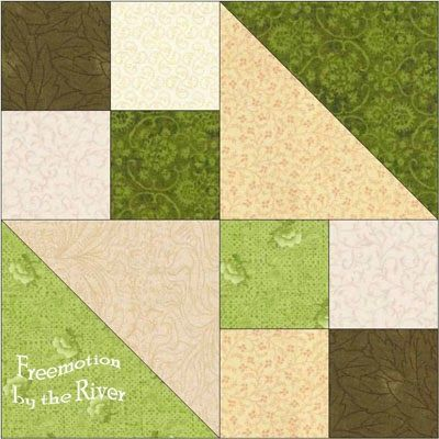 Freemotion by the River: Duck Blind Quilt