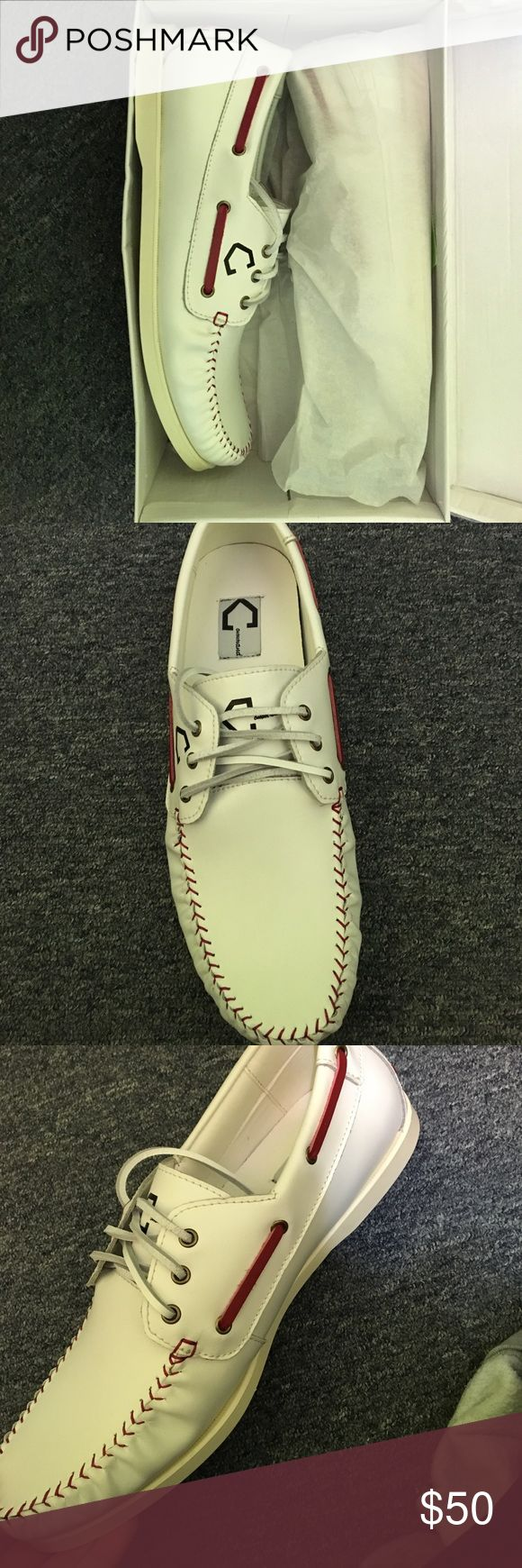 Size 12 Men's Command Athletics Boat Shoes Men's Boat Shoes Size 12. Ordered from website and they sent the wrong size. Brand new, never worn. Fit and look like Sperry Boat Shoes. Command Athletics Shoes Boat Shoes