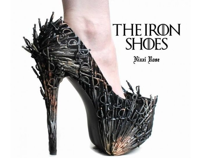 The Iron Shoes - Game of Throne inspired heels