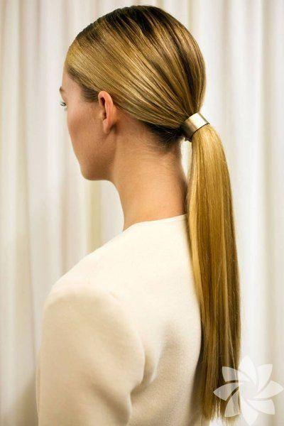 Ofis için alternatif saç modelleri
