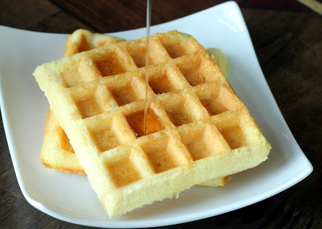 New Protein Waffle - Maria Mind Body Health (S meal) - I didn't have any xylitol syrup, and so made sandwiches with egg & bacon with ours. They are QUITE dry, but great tasting.