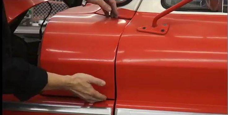 Body Panels Adjusting C10 Chevy Truck Auto Body Work Auto Body Repair