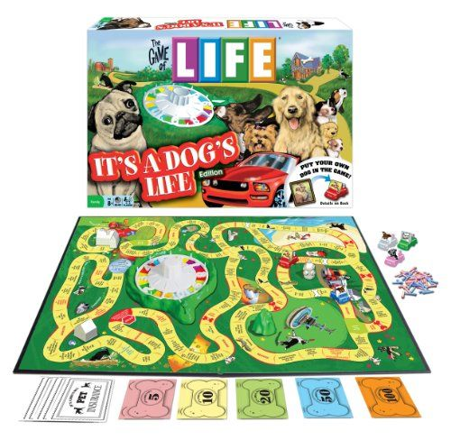 Game Of Life - It's A Dog's Life Edition (can't wait to start collecting puppies)