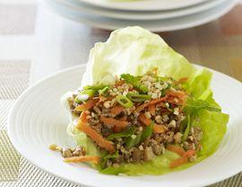 Spicy Tofu Lettuce Wraps Recipe | Vegetarian Times