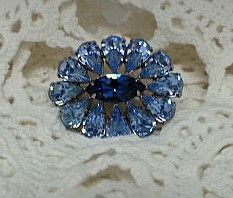 Sherman Blue Brooch