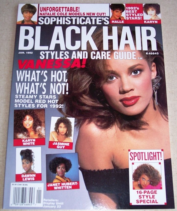 Sophisticate's Black Hair Styles & Care Guide, January ...