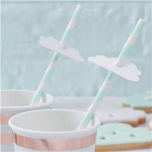 🎉 JUST ADDED - Itty Bitty Baby Shower Hello World Paper Straws 🍼  VIEW HERE: