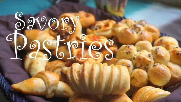 تشكيلة معجنات و مملحات المطبخ المغربي Assortment of Savory Pastries MOROCCAN CUISINE -Fatemahisokay - YouTube