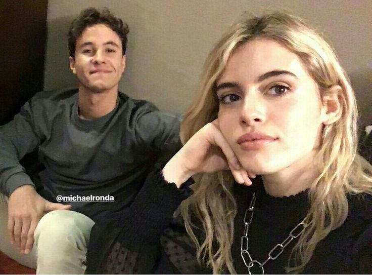 Michael Ronda e Chiara Paravicine