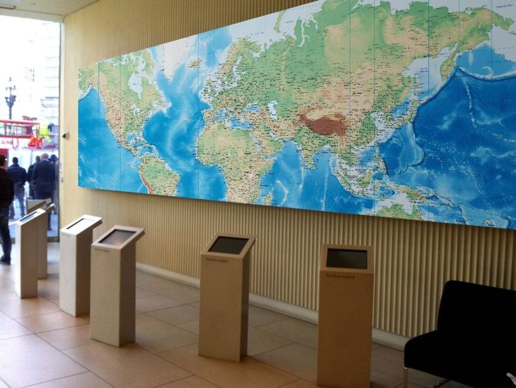 129 best world map wallpaper images on pinterest world maps world world map feature from wallpapered gumiabroncs Choice Image