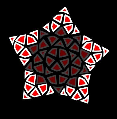Penrose Tiles   Free SVG